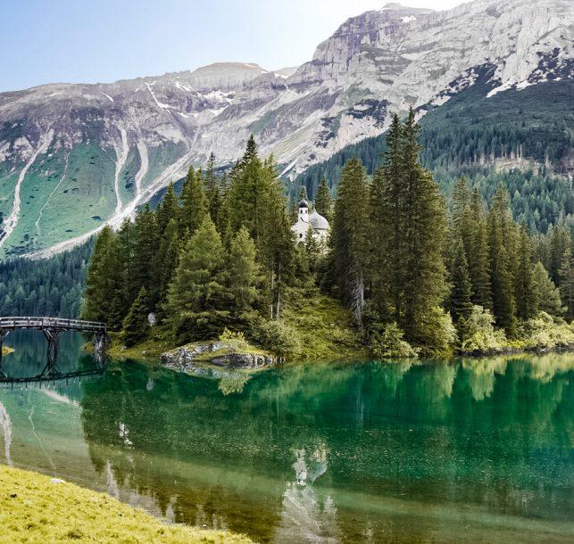 Wanderung am Obernberger See c TVB Wipptal